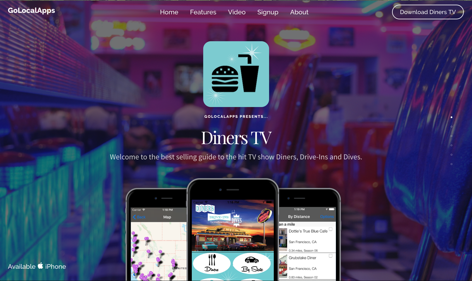 Diners TV